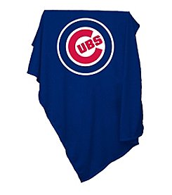 Chicago Cubs Logo Chair Sweatshirt Blanket