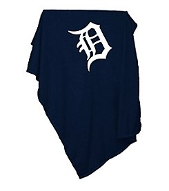 Detroit Tigers Logo Chair Sweatshirt Blanket