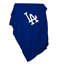 Los Angeles Dodgers Logo Chair Sweatshirt Blanket