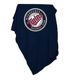 Minnesota Twins Logo Chair Sweatshirt Blanket