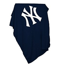 New York Yankees Logo Chair Sweatshirt Blanket