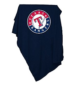 Texas Rangers Logo Chair Sweatshirt Blanket