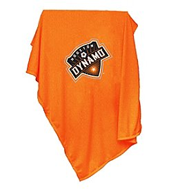 MLS Houston Dynamo Logo Chair Sweatshirt Blanket
