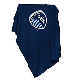 MLS Sporting Kansas City Logo Chair Sweatshirt Blanket
