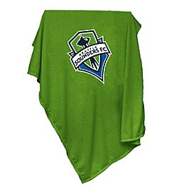 MLS Seattle Sounders Logo Chair Sweatshirt Blanket