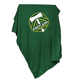 MLS Portland Timbers Logo Chair Sweatshirt Blanket