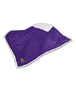 East Carolina University Logo Chair Sherpa Throw