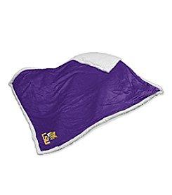 Louisiana State University Logo Chair Sherpa Throw