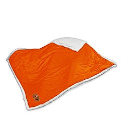 Oklahoma State University Logo Chair Sherpa Throw