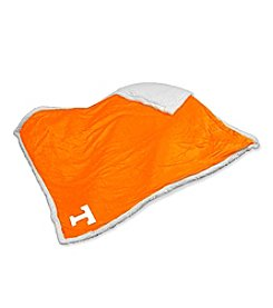 University of Tennessee Logo Chair Sherpa Throw