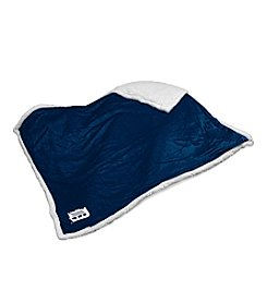 Detroit Tigers Logo Chair Sherpa Throw