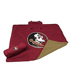 Florida State University Logo Chair All Weather Blanket