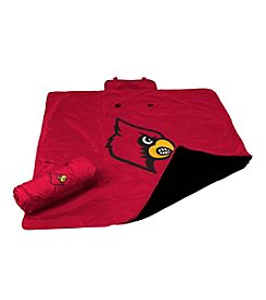 University of Louisville Logo Chair All Weather Blanket