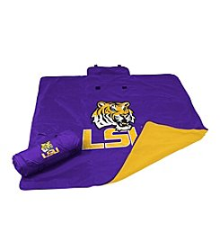 Louisiana State University Logo Chair All Weather Blanket