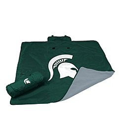 Michigan State University Logo Chair All Weather Blanket