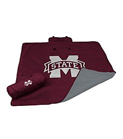Mississippi State University Logo Chair All Weather Blanket