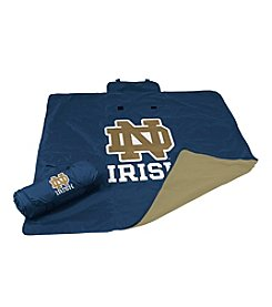 University of Notre Dame Logo Chair All Weather Blanket