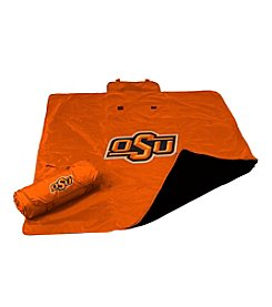 Oklahoma State University Logo Chair All Weather Blanket