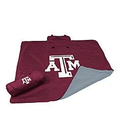 Texas A&M University Logo Chair All Weather Blanket