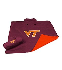 Virginia Tech University Logo Chair All Weather Blanket