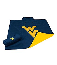 West Virginia University Logo Chair All Weather Blanket
