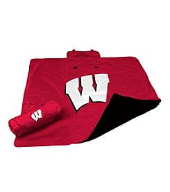 University of Wisconsin Logo Chair All Weather Blanket