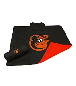 Baltimore Orioles Logo Chair All Weather Blanket