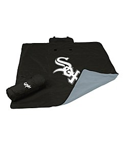 Chicago White Sox Logo Chair All Weather Blanket