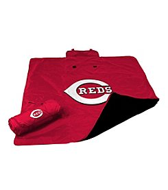 Cincinnati Reds Logo Chair All Weather Blanket