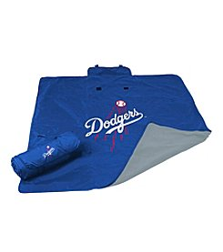 Los Angeles Dodgers Logo Chair All Weather Blanket