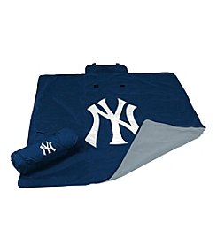 New York Yankees Logo Chair All Weather Blanket