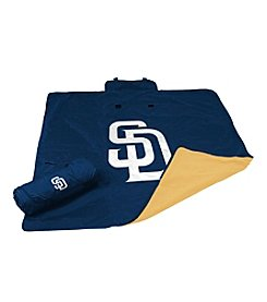 San Diego Padres Logo Chair All Weather Blanket