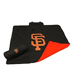 San Francisco Giants Logo Chair All Weather Blanket