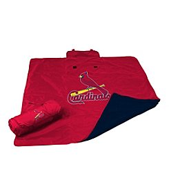 St. Louis Cardinals Logo Chair All Weather Blanket