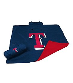 Texas Rangers Logo Chair All Weather Blanket