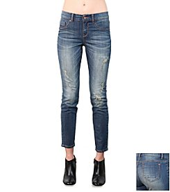 Standards & Practices 5-Pocket Skinny Crop Jeans