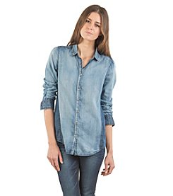 Standards & Practices Laney Chambray Shirt