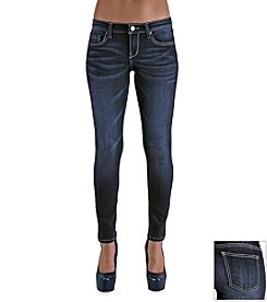 Standards & Practices Minnie Indigo Knit High Waist Jeans