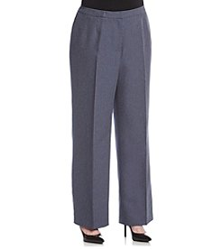 LeSuit® Plus Size Herringbone Pants