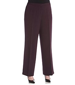 Kasper® Plus Size Kate Classic Fit Pants