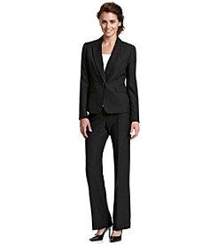 LeSuit® Slubbed Jacket and Pant Suit