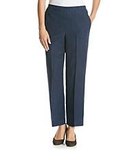 Alfred Dunner® Solid Short Pants