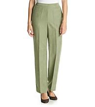 Alfred Dunner® Amsterdam Avenue Solid Regular Pants