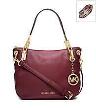 MICHAEL Michael Kors® Brooke Leather Medium Shoulder Bag