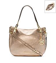 MICHAEL Michael Kors® Brooke Metallic Leather Large Shoulder Bag
