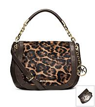 MICHAEL Michael Kors® Stanthorpe Leopard Hair Calf Medium Shoulder Bag