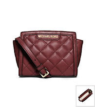 MICHAEL Michael Kors® Selma Quilted Leather Mini Messenger