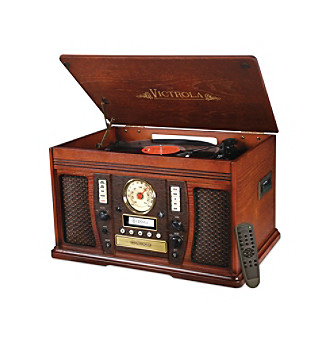 Innovative Technology The Aviator 7-In-1 Bluetooth Wooden Mu