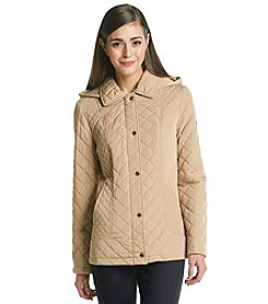 Calvin Klein Petites' Mixed Quilted Barn Jacket