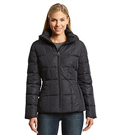 Calvin Klein Hooded Untrim with Vertical Seaming Jacket